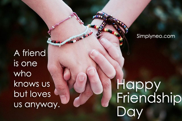 A friend is one who knows us but loves us anyway.