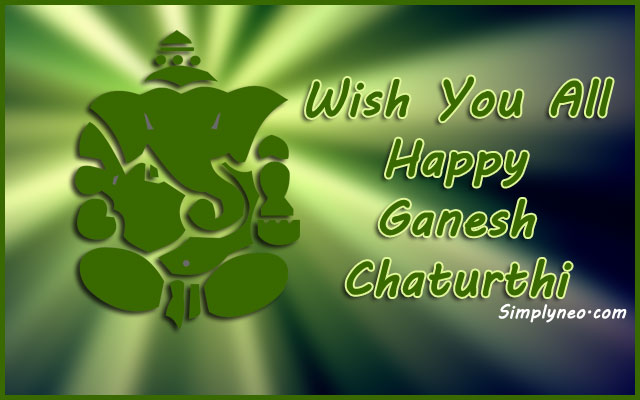 Wish you a very Happy Ganesh Chaturthi!
