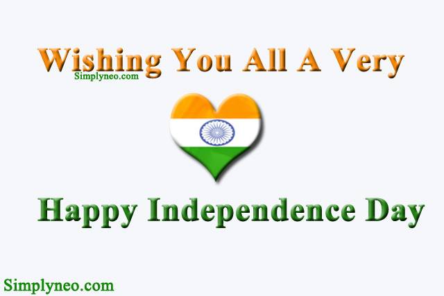 Wishing you all a very happy independence day