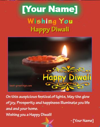 Best greetings happy diwali