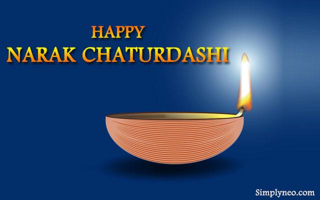 Wish you a very happy narak chaturdashi