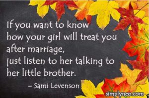 If you want to know how your girl will treat you after marriage – Sami Levenson