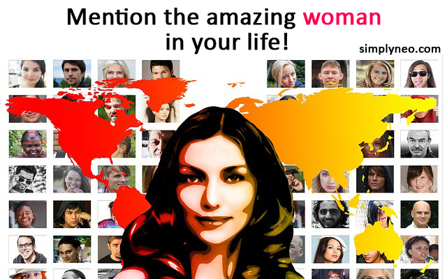 Mention the amazing woman in your life! Wish them a Happy International Women's Day!