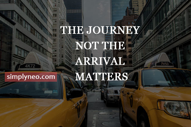 The journey not the arrival matters. - T.S. Eliot , famous inspirational travel quotes